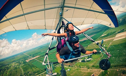 $89 for a Tandem Discovery-Flight Hang-Gliding Package from Orlando Hang Gliding ($179 Value)
