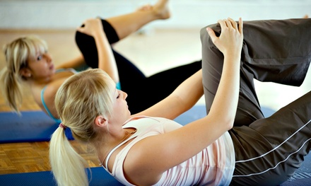 Five Yoga or Fitness Classes or Month of Unlimited Yoga and Fitness Classes at Renew Wellness (Up to 59% Off)