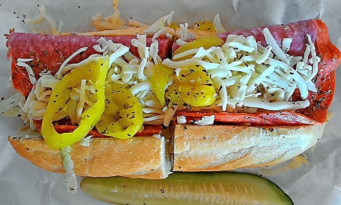 Dave's Cosmic Subs - Far North Central: Sub Meal with Sides, Desserts, and Drinks for Two at Dave's Cosmic Subs (Up to 44% Off)