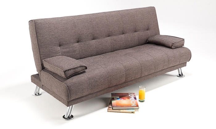 Admirable Fabric Sofa Bed Groupon Goods Cjindustries Chair Design For Home Cjindustriesco