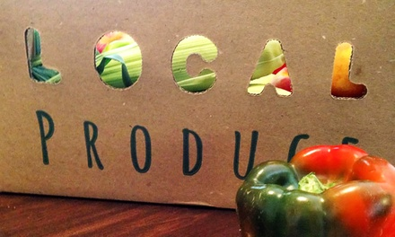 1-Year Membership for New Members or One Add-On Produce Box from Farm Table (Up to 41% Off)