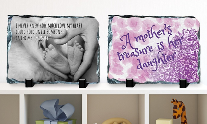 Mother's Day Slate: $19.99 for a Mother's Day Slate (Up to $39.99 List Price). 15 Designs Available. Free Shipping and Returns.