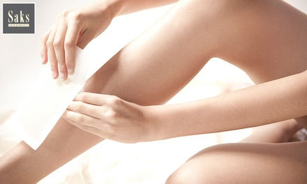 Half-Leg and Underarm or Standard Bikini Line Waxing at Saks Dundee (Up to 49% Off)