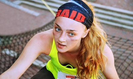 Entry to Urban Raid Obstacle-Course 5K on Saturday, October 24, with Beer and T-shirts for One or Two (48% Off)