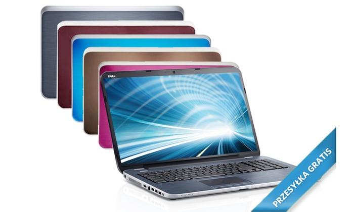 promobile: 1939 zł zamiast 4199 zł: laptop Dell Inspiron 17R z 4-rdzeniowym procesorem, 8 GB RAM, dyskiem 1 TB - aż 7 kolorów