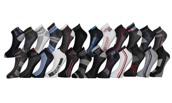 Men's Ankle Socks (24-Pairs)