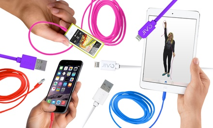 JIVO Apple-Certified 9Ft. Lightning-to-USB Power and Sync Cable