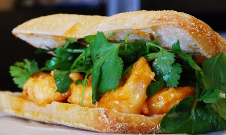$5 for $10 Worth of Asian-Influenced Sandwiches at Zenwich