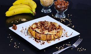 Creamery Twist: Choice of Dessert, Waffle, Crepe or Sundae Each for Two at Creamery Twist (Up to 40% Off)