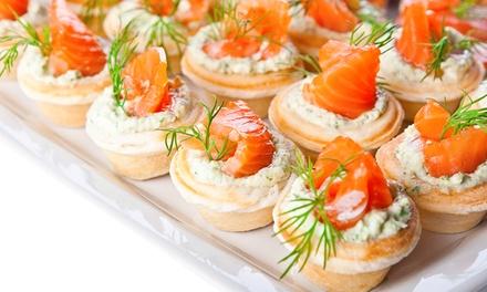 Catering de 144 o de 288 piezas para 12 o 24 personas desde 49,90 € en Pastelería Austriaca