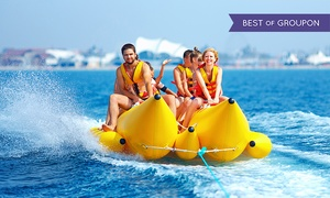 Jet Boat Miami: Banana Boat Ride for One or Two, or Banana Boat Ride and Jet Boat Ticket from Jet Boat Miami (Up to 43% Off)