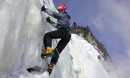 Introduction to Ice Climbing for One or Two with Aventurex (Up to 52% Off)