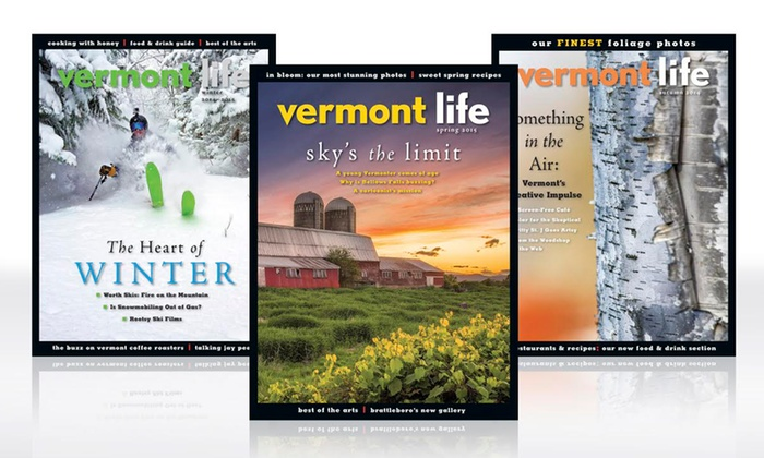 "Vermont Life: One- or Two-Year Digital and Print Subscription to ""Vermont Life"" (Up to 75% Off)"