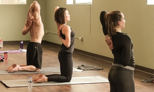 Yoga at the Yard: Six or 12 Yoga Classes, or One Month of Unlimited Classes at Yoga at the Yard (Up to 62% Off)