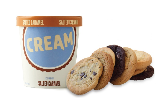 CREAM - Walnut Creek: Ice Cream Sandwiches or Take-Home Ice Cream and Cookies at Cream (Up to 50% Off)