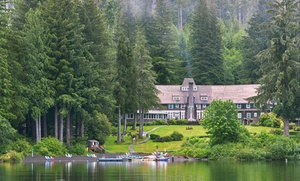 Lake Quinault Lodge: 1- or 2-Night Stay for Two at Lake Quinault Lodge in Quinault, WA. Combine Up to 10 Nights.