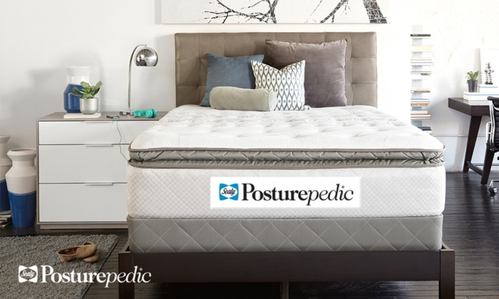 Sealy Pillowtop Mattress Set