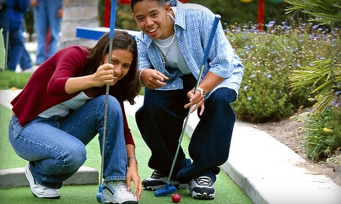 Lancaster Golf Center - Lancaster: Mini Golf and Sundaes for Two, Rounds of Golf for Two, or Range Balls at Lancaster Golf Center (Up to 61% Off)