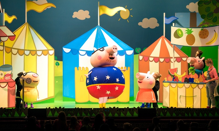 """Peppa Pig Live!"" - Ruth Eckerd Hall: Peppa Pig Live! on January 24 at 12 p.m. or 3 p.m."