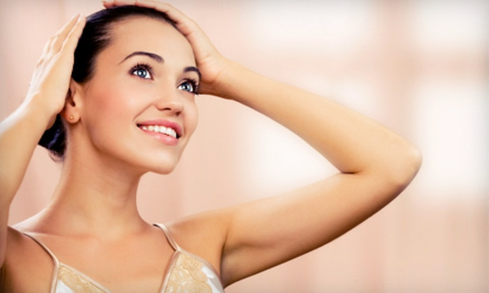The Gentle Touch - Kitsilano: Six Laser Hair-Removal Treatments for a Small, Medium, or Large Area at The Gentle Touch (Up to 82% Off)