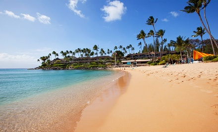 groupon daily deal - 3-Night Stay with Welcome Cocktail Vouchers at Napili Kai Beach Resort in Maui