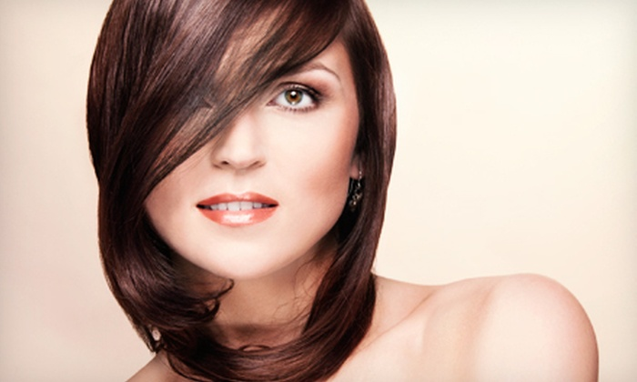 The Hair Lounge - Central Escondido: Haircut with Optional Partial or Full Highlights at The Hair Lounge in Escondido (Up to 64% Off)