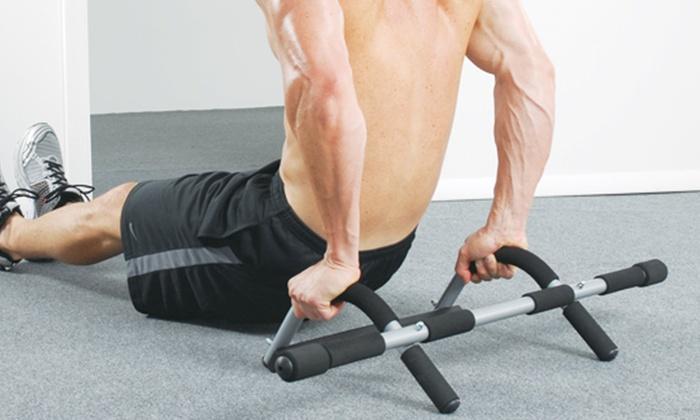 Upper body workout bar groupon