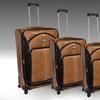 Adrienne Vittadini 4-Piece Black Label Luggage Set