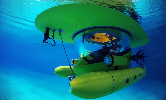 "HMS Discovery - Northern Waterfront: $199 for a 40-Minute Drive-Your-Own Underwater ""HMS Discovery"" Submarine Tour for Two ($398 Value)"