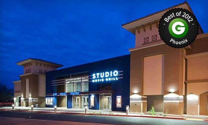 Studio Movie Grill - Scottsdale: $5 for Movie and Soda at Studio Movie Grill (Up to $13 Value)