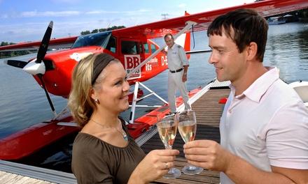 25 Minuten Rundflug im Wasserflugzeug und 1 Glas Champagner von Air Service Berlin für 199,80 €