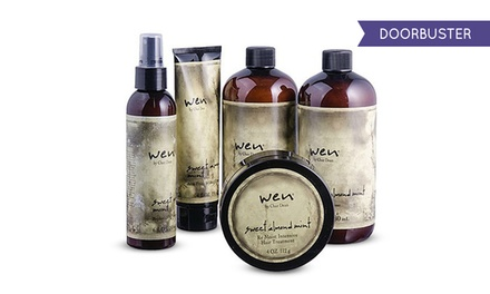Wen Sweet Almond Mint Cleansing and Styling Kit (5-Piece)