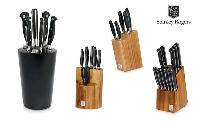 Stanley Rogers Knife Block Set Groupon Goods