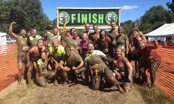 Lake Eerie Zombie Mud Run: Entry and Zombie Makeup for One or Two to the Lake Eerie Zombie Mud Run on July 12 (Up to 52% Off)