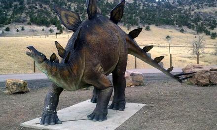 $24for a One-Year Family Membership to Dinosaur Ridge ($60 Value)