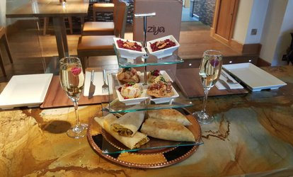 image for Indian Street Food Afternoon Tea with a Glass of Prosecco for Two or Four at Ziya Asian Grill