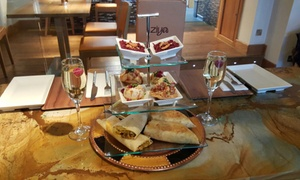 Ziya Asian Grill: Indian Street Food Afternoon Tea with a Glass of Prosecco for Two or Four at Ziya Asian Grill