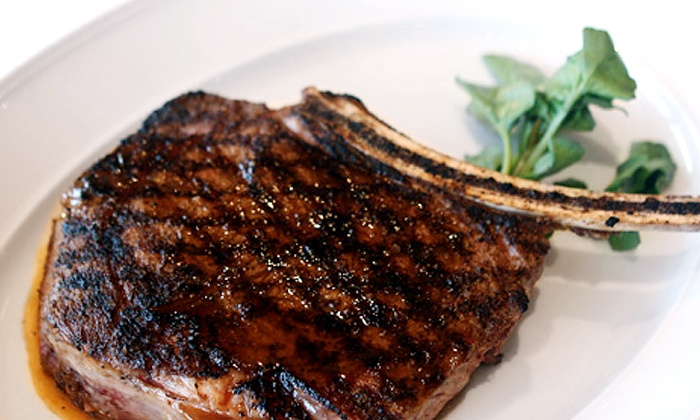 Rosaria - Oakland Vale: Steak-House Dinner with Entrees, Salad, and Dessert for Two or Four at Rosaria (Up to a 48% Off)