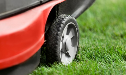 Four or Six Consecutive Weeks of Lawn Mowing Services at Oehm's Mowing (Up to 53% Off)