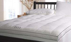 """Elle 2.5"""" Fiber Bed Mattress Pad"""
