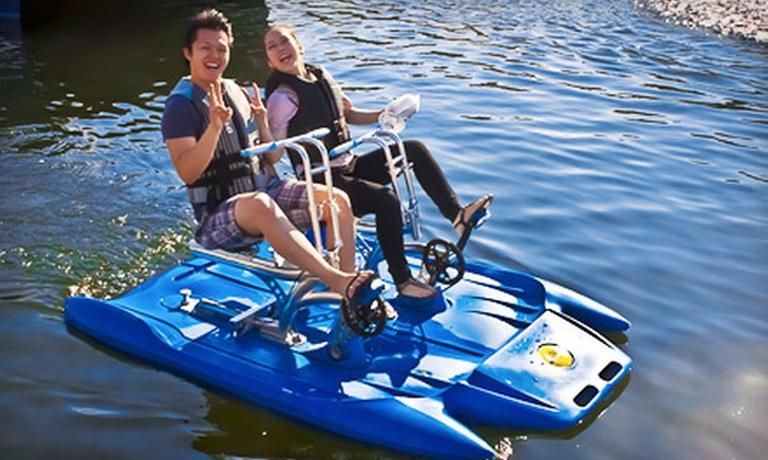 Vancouver Water Adventures - Vancouver: Two-Hour Water-Bike Rental for One or Two from Vancouver Water Adventures (Up to 51% Off)