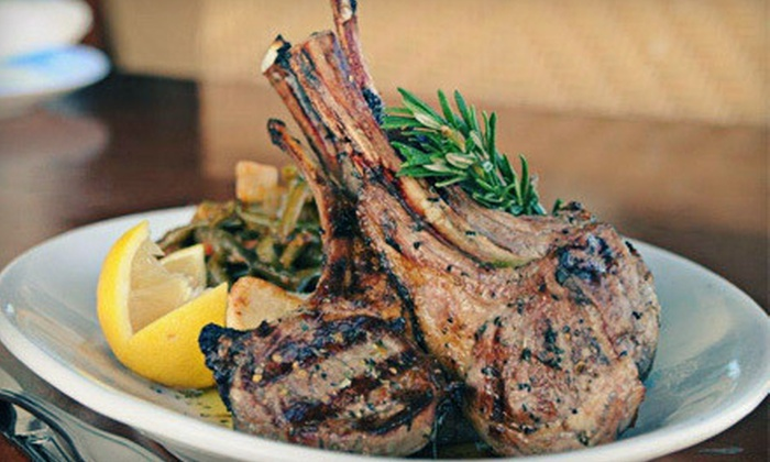 Taverna Opa - Cityplace: $17 for $35 Worth of Mediterranean Cuisine at Taverna Opa in West Palm Beach
