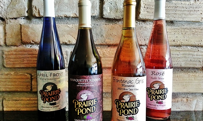 Prairie Pond Vineyard & Winery - New Prague: Dinner and Wine Experience for Two or Four at Prairie Pond Vineyard & Winery (Up to 42% Off)
