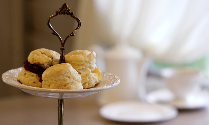 The Tea Room - Costa Mesa: High Tea for Two or Four at The Tea Room (Up to 52% Off)