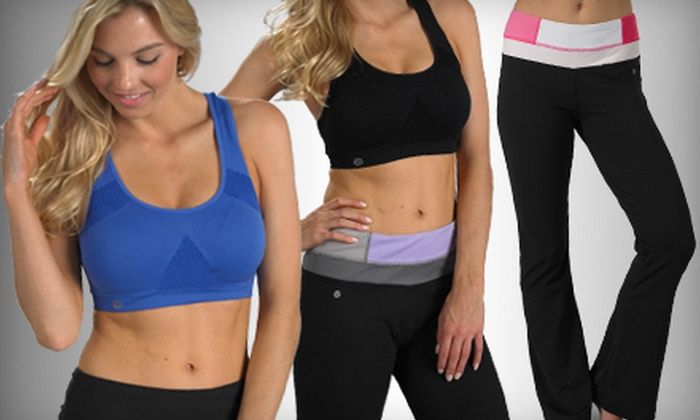 Up to 74% Off Bally Total Fitness Yoga Wear | Groupon