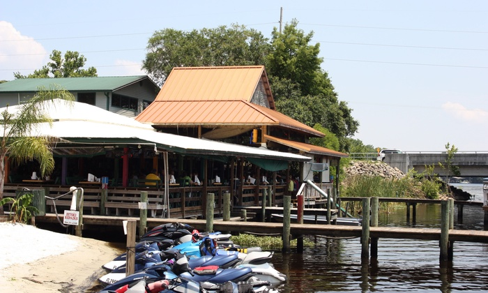 Whitey's Fish Camp - Fleming Island: $18 for Three Groupons, Each Good for $10 Worth of Seafood and Drinks at Whitey's Fish Camp ($30 Total Value)