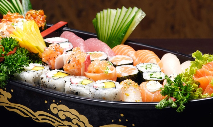 Iron Chefs Hibachi & Sushi Bar - The Emporium: Lunch or Dinner at Iron Chefs Hibachi & Sushi Bar (Up to 40% Off)