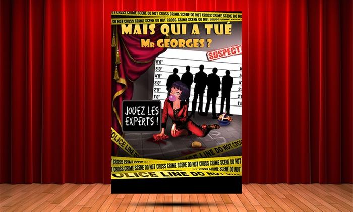 """2 places pour """"Mais qui a tué Mr Georges ?"""", date au choix, à 22 € au théâtre Athéna de Nice"""