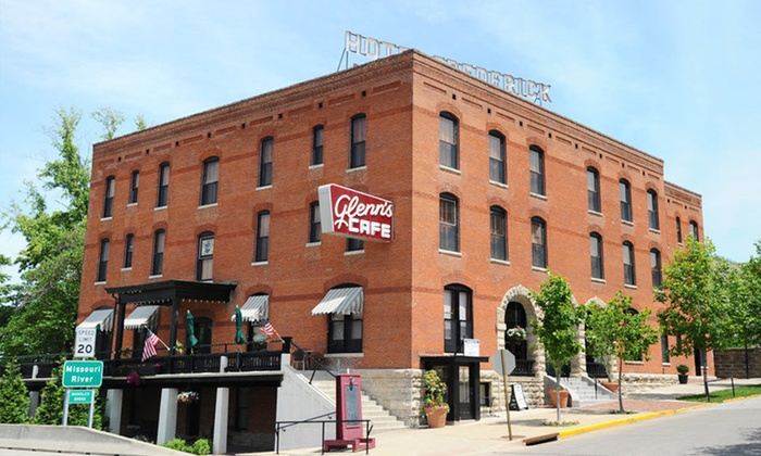 Hotel Frederick - Boonville: One-Night Stay at Hotel Frederick in Boonville, MO