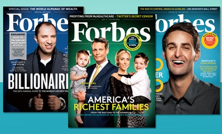 24 Issues of Forbes Magazine